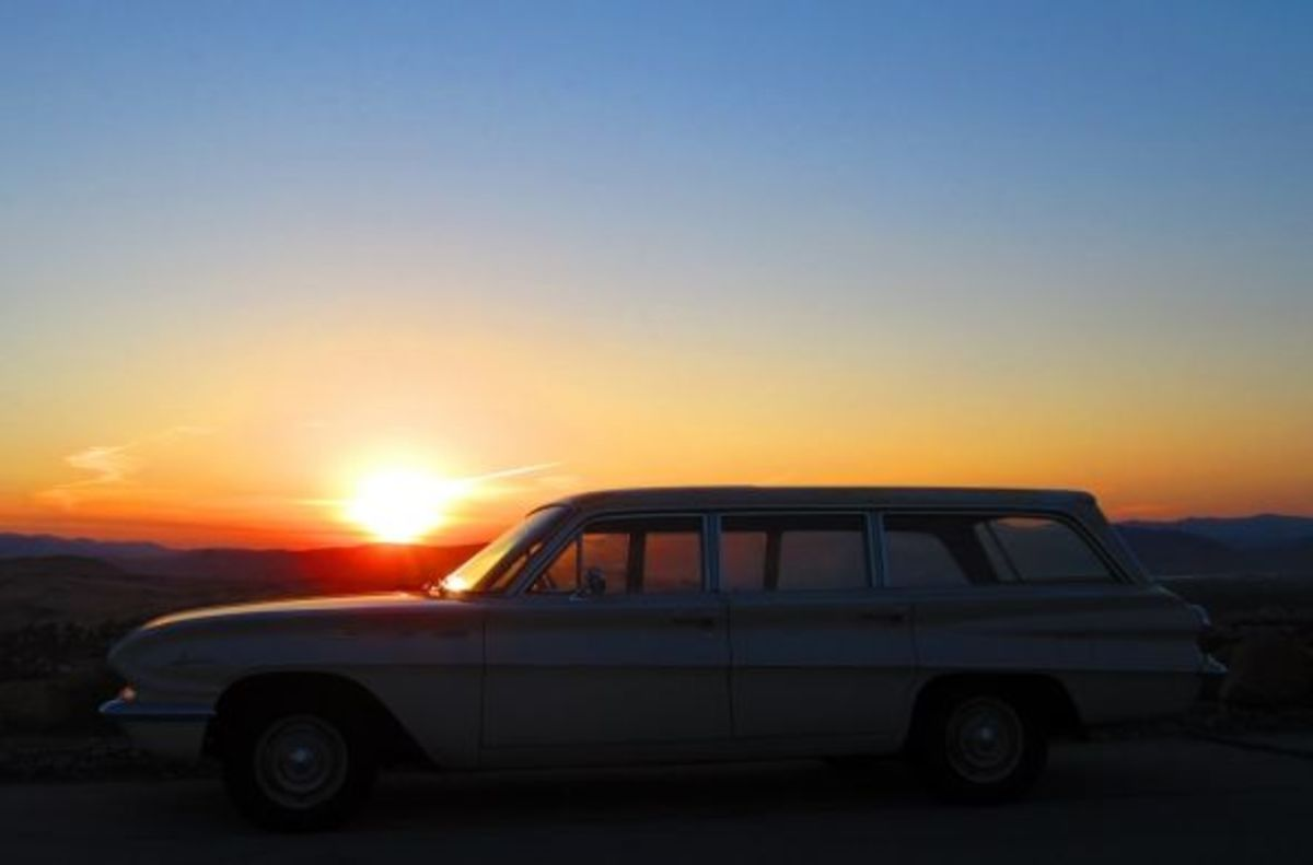 My 63 Buick Special Wagon at the crack of dawn