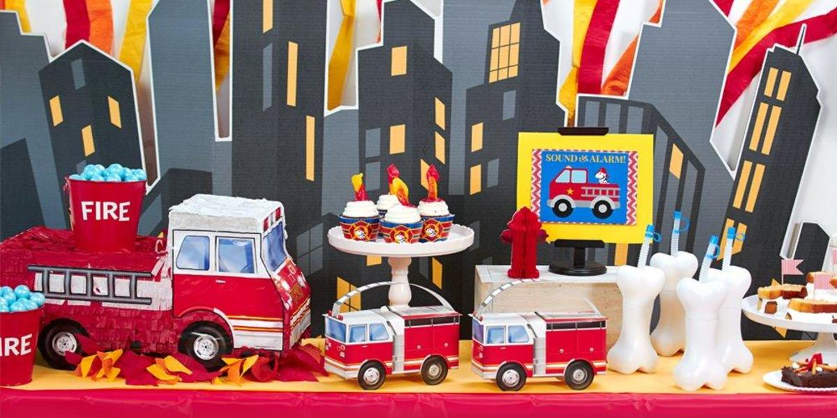 Firemen Party Supplies