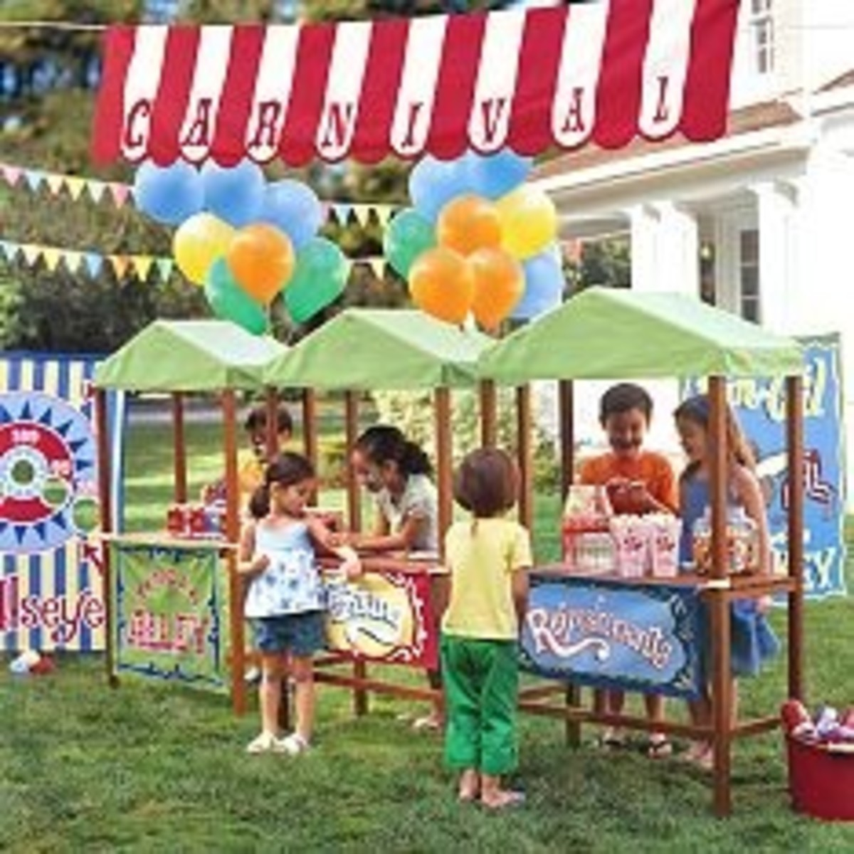 carnival theme party decorations