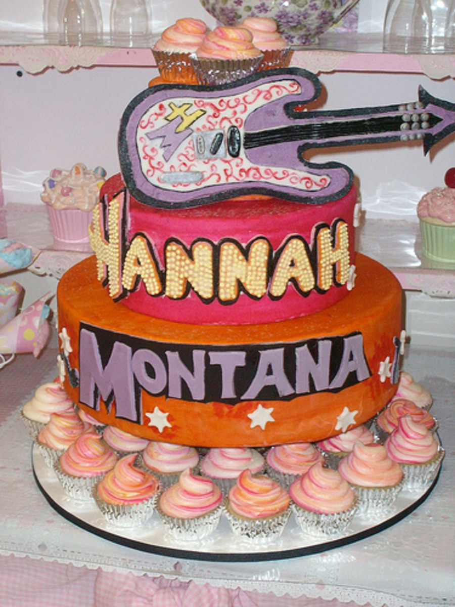 Hannah Montana Cupcake Tree