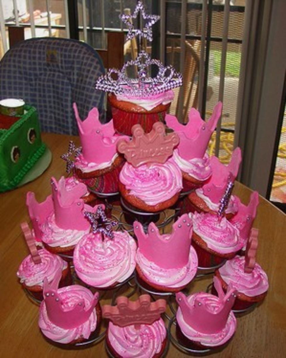 Princess Cupcake Tree