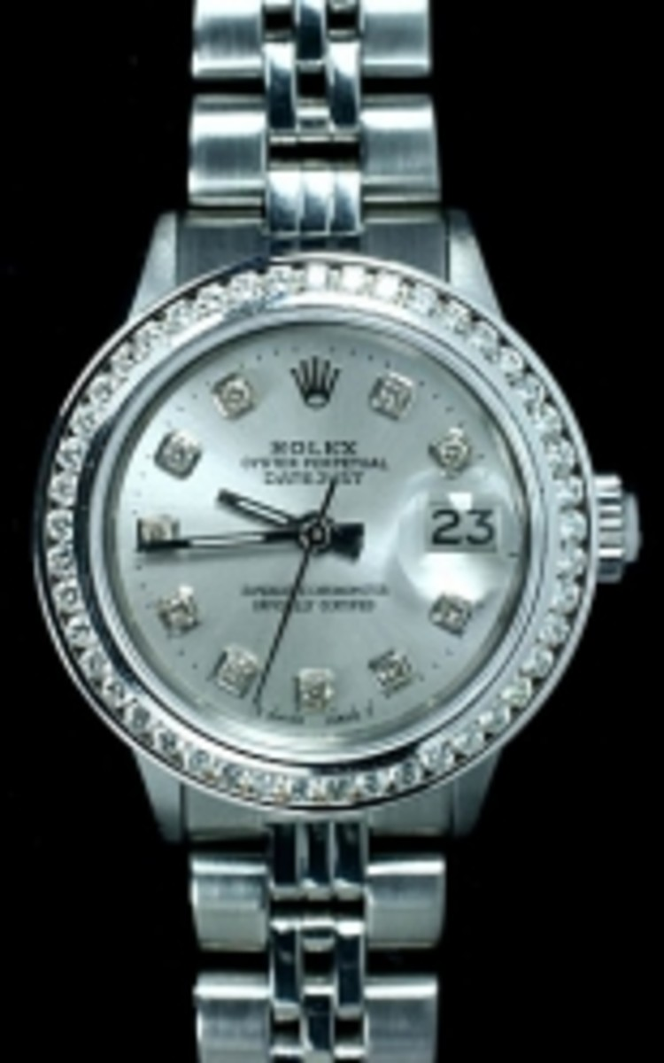 Ladies Stainless Steel Jubilee Rolex Datejust