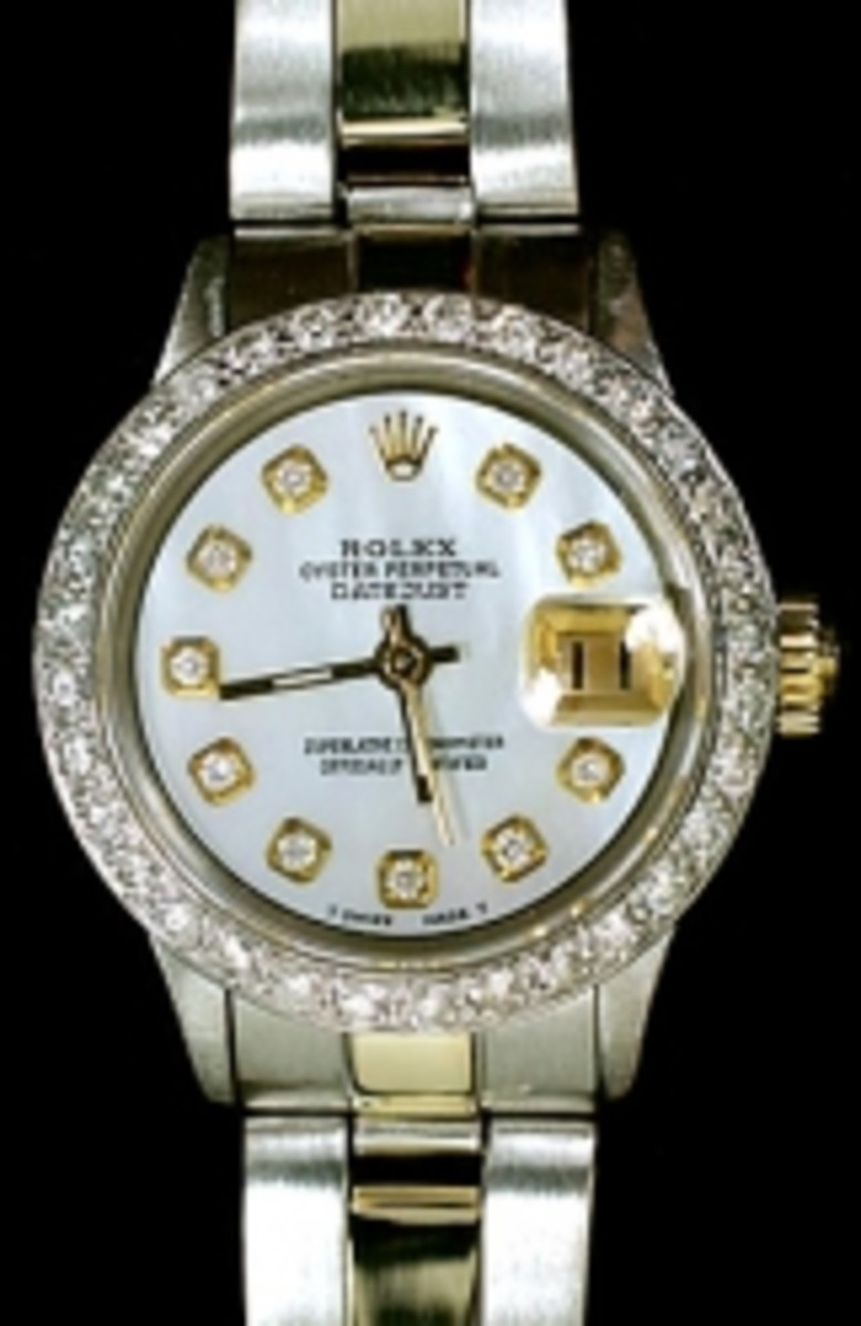 Ladies Two Tone Oyster Datejust