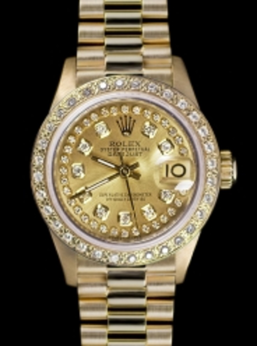 Ladies String Dial Rolex President