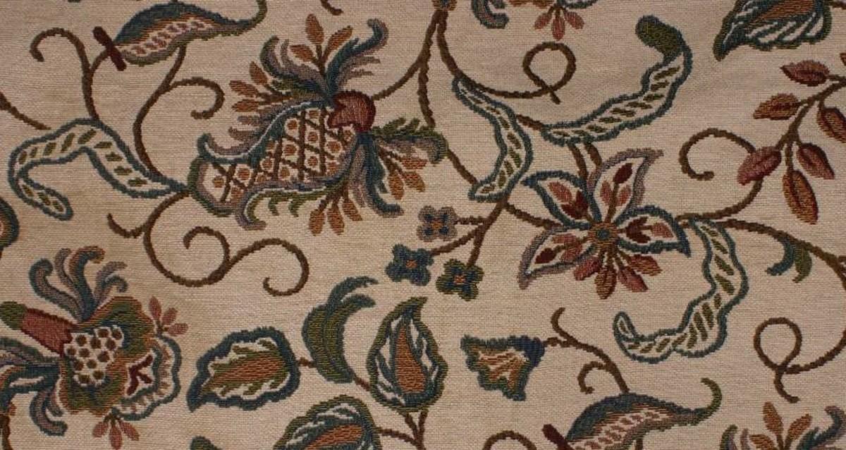 Jacobean Design Fabric