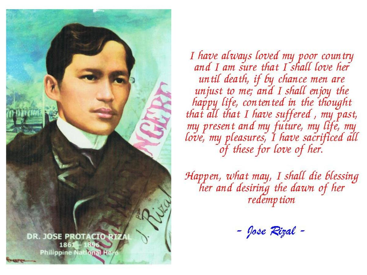 rizals letter to the young women The discussion focuses on the family background of jose rizal and his life and experiences as a young  personal background of jose rizal essay  of women.