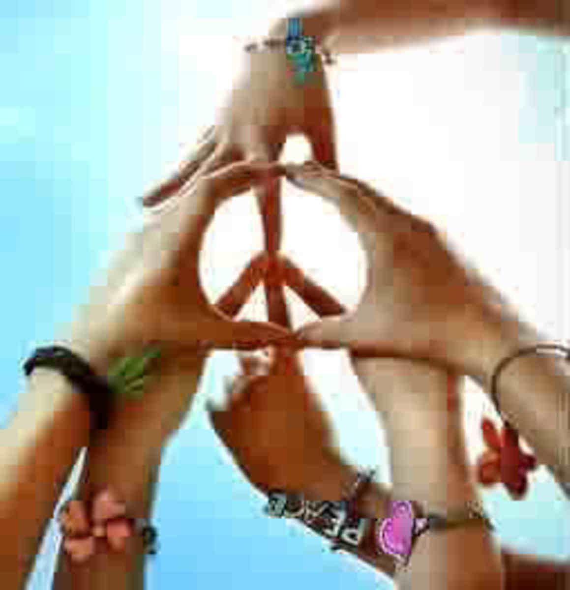 Let peace begin within our hearts.