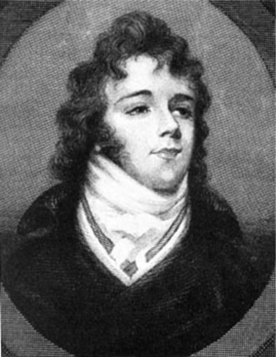 A miniature of Beau Brummell