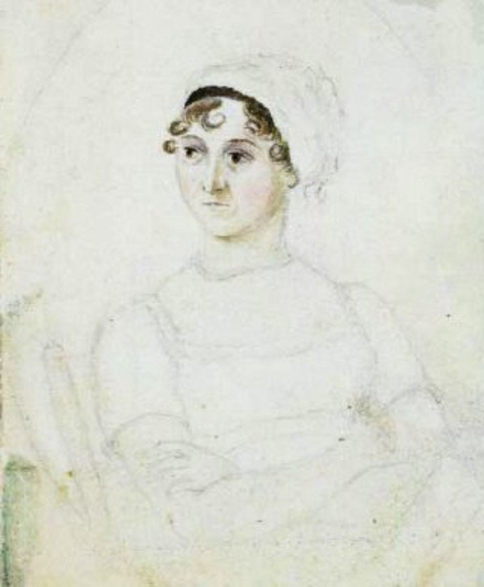 Jane Austen by her sister, Cassandra