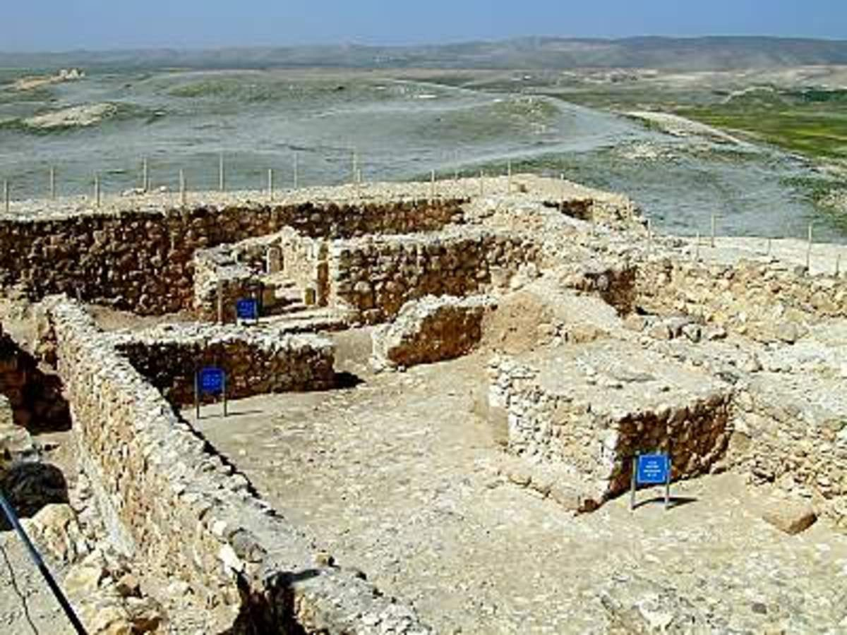 Inside the Iron Age fortress, archaeologists found remains of a temple used for several centuries during the time of the Divided Monarchy.  Though worship centers outside of Jerusalem were forbidden by Moses (Deut 12), high places flourished througho