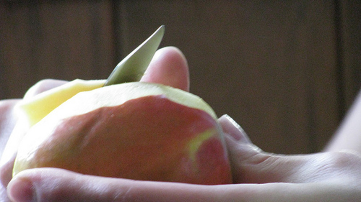 Peeling an Apple (Photo courtesy by DavidErickson from Flickr)