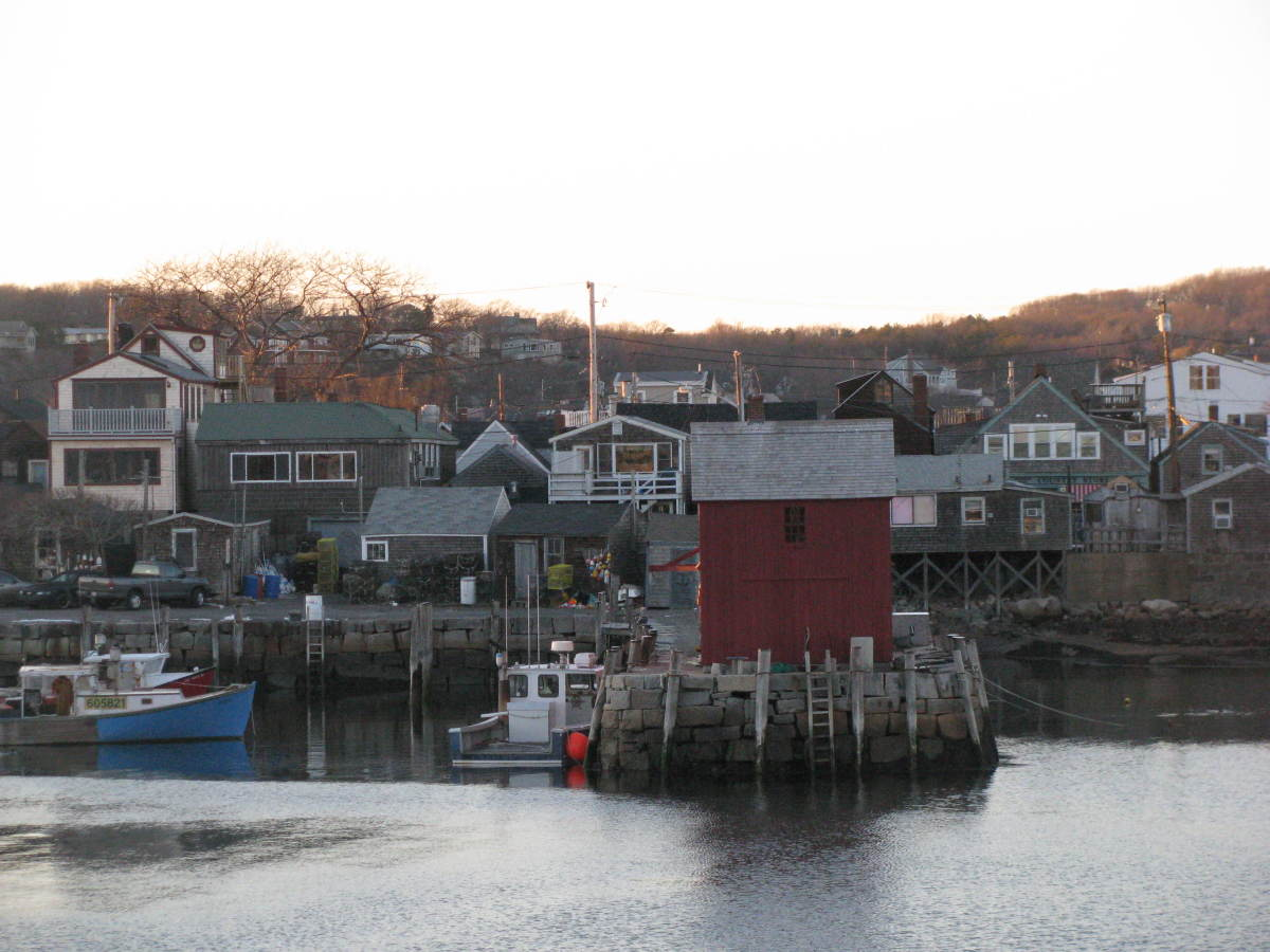 Looking across at Motif #1.  In the film, mountains are across the skyline.