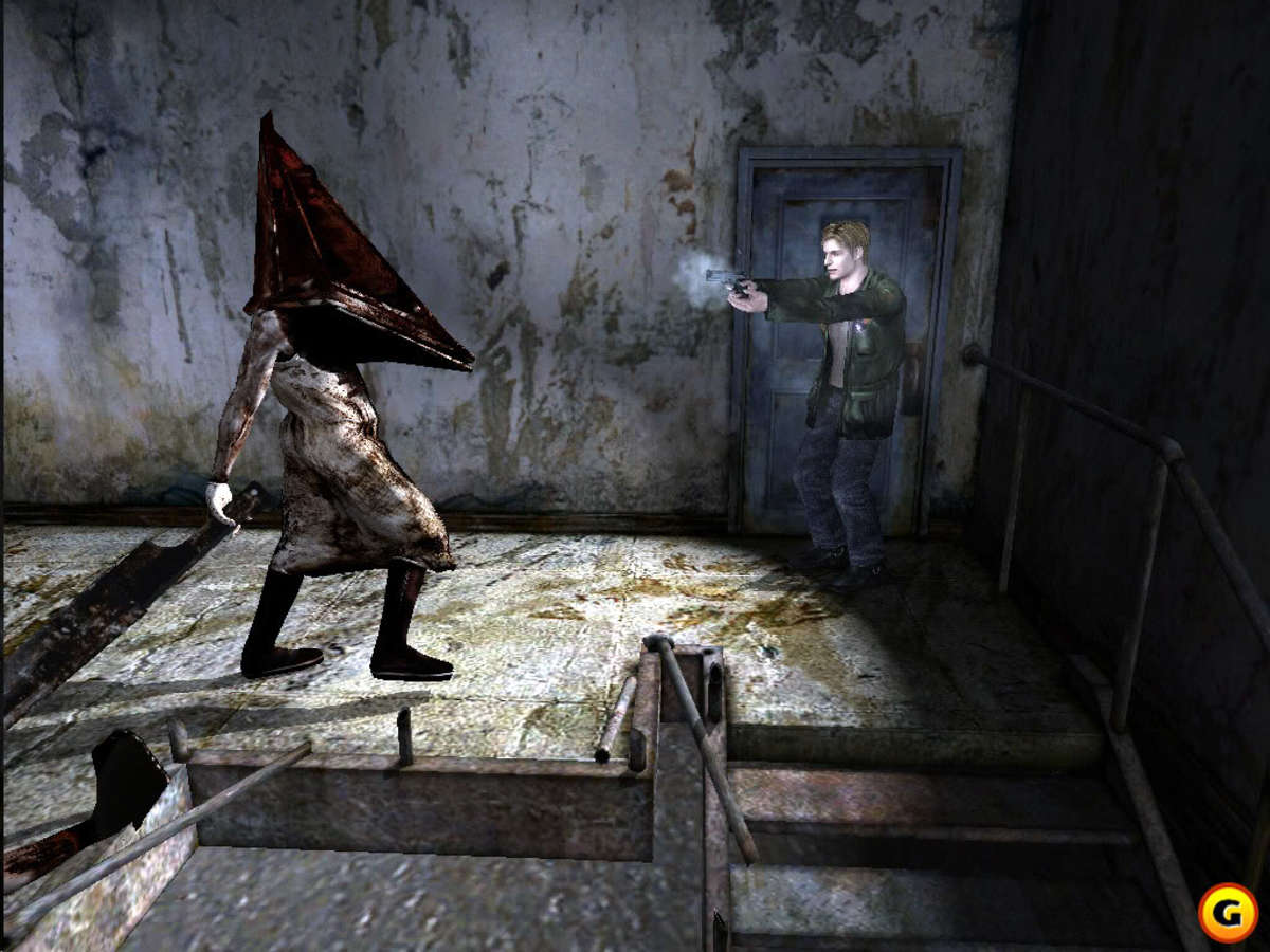 Pyramid Head from the game