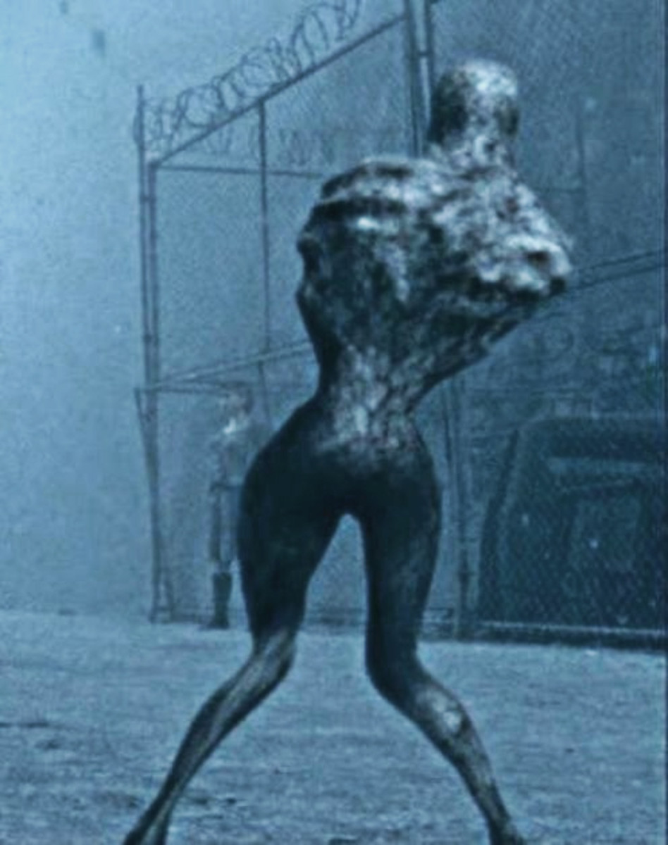 Armless creature from the film
