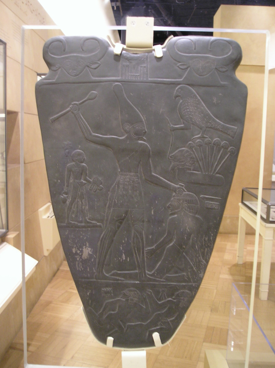 The narmer pallette