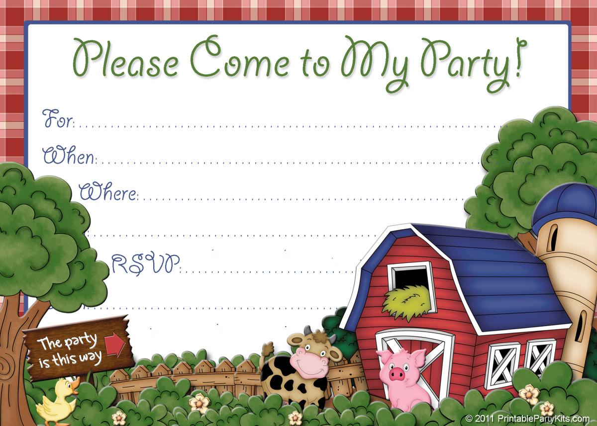 boy birthday invitation templates free