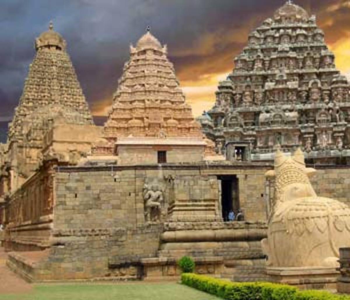 Chola temples of Dravidian Kings