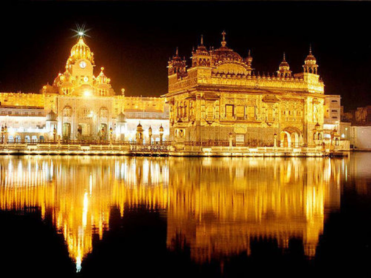 Golden Temple of Amritsar, Punjab, India