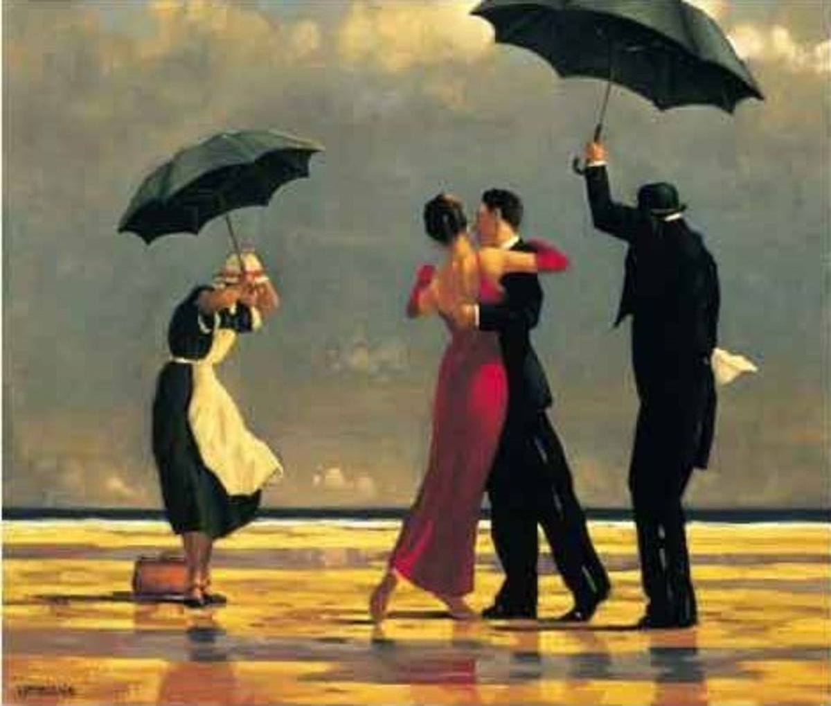 Jack Vettriano's The Singing Butler - Analysis