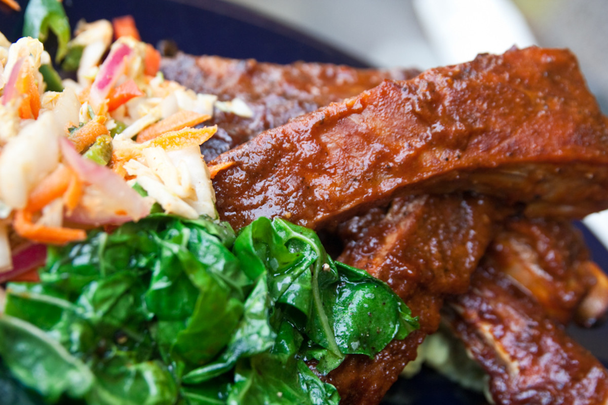 Spare ribs are popular dinner fare
