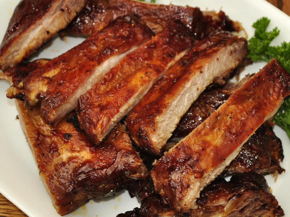 Delicious spare ribs