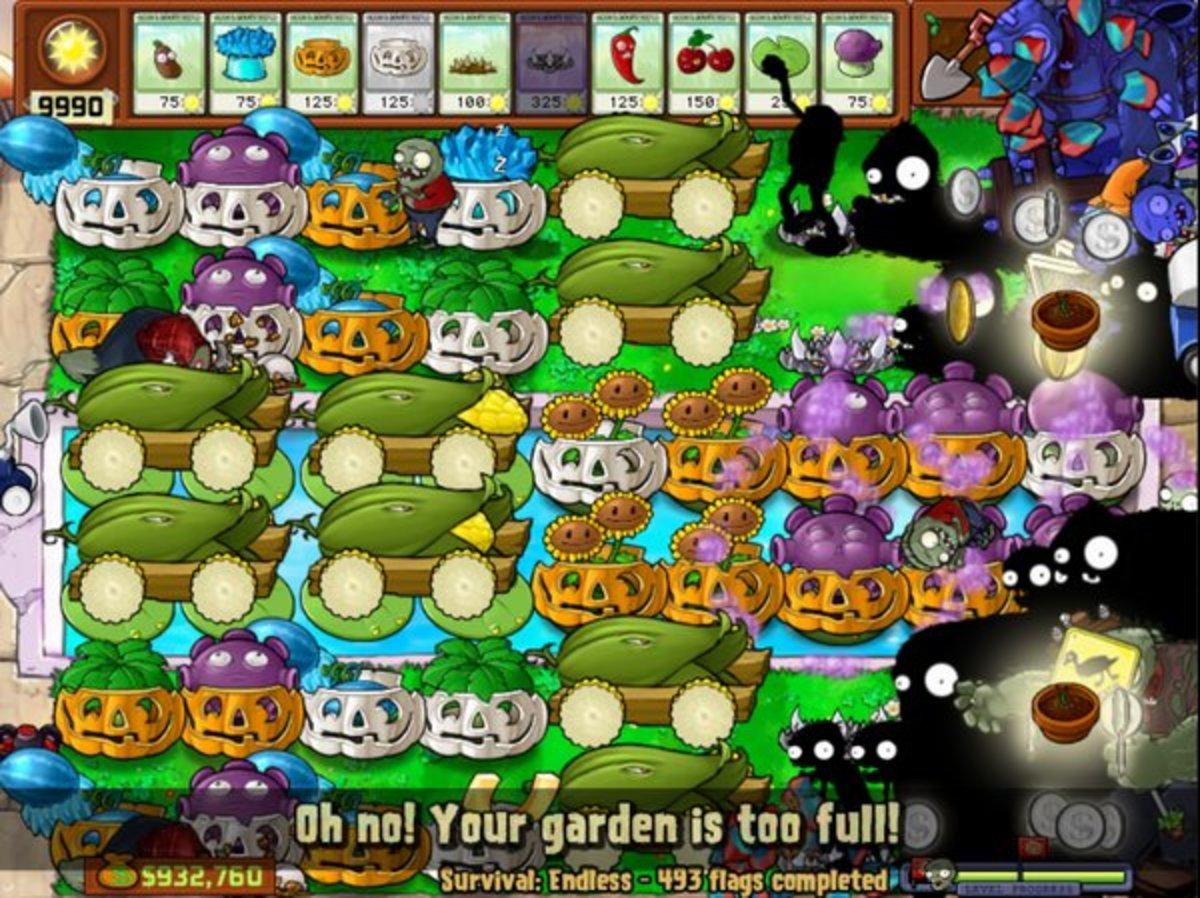 Plants vs Zombies Survival Endless