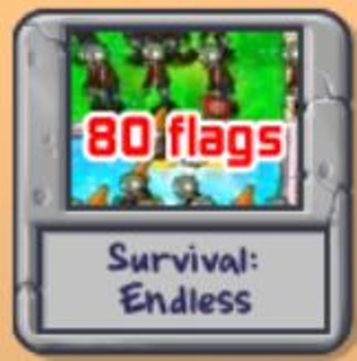 Whoops!I only survived 80 flags for the first time I applied this setup.