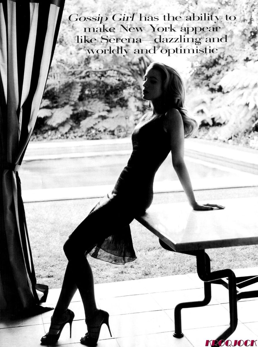 Fabulous photo from Vogue wearing towering stilettos