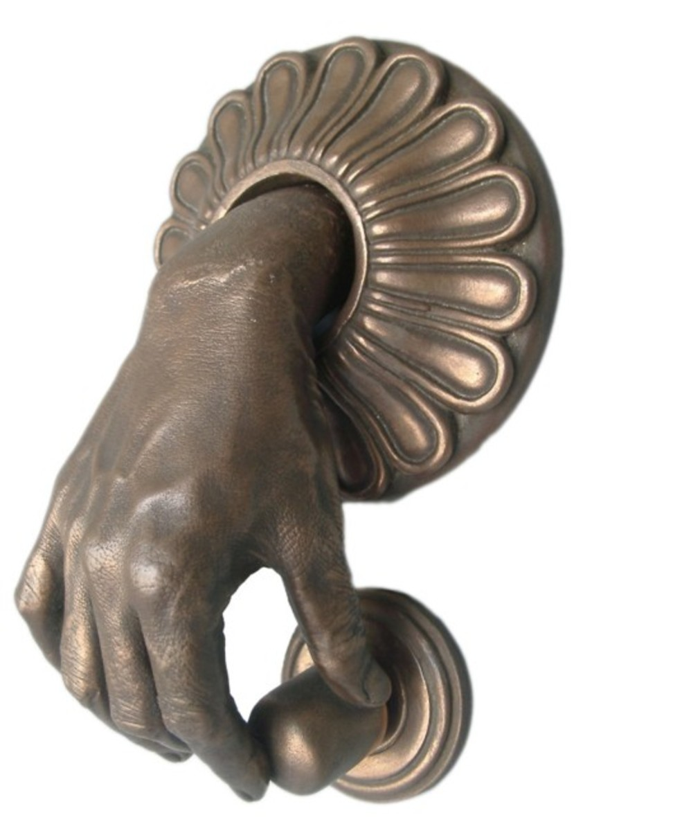 My Weird And Wonderful Door Knockers Hubpages