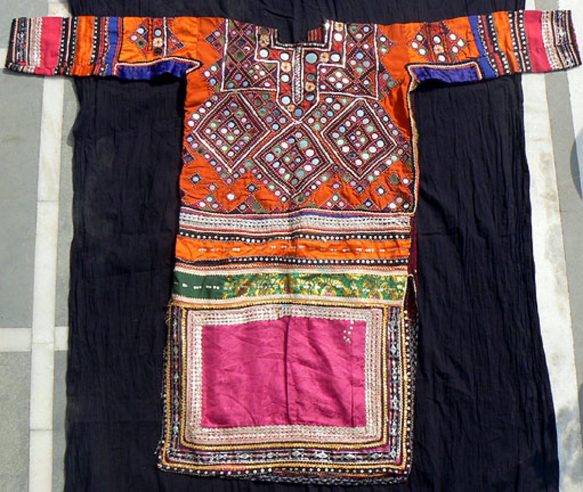 a typical choli
