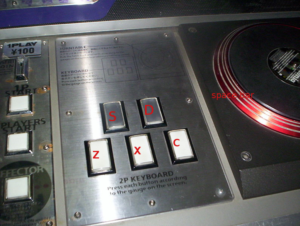 The controller for the Beatmania DJ simulator games :) great fun with one of these