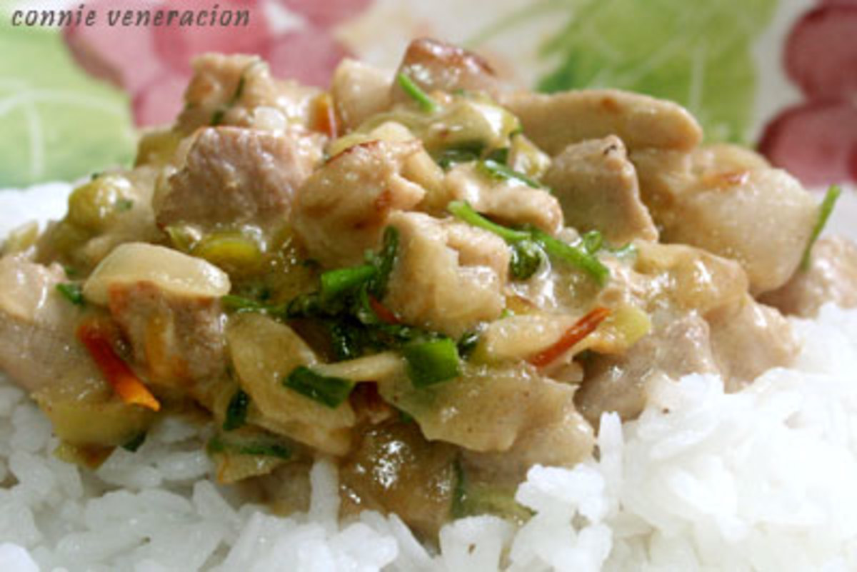 Bicol Express (Courtesy of http://pinoycook.net/bicol-express/)