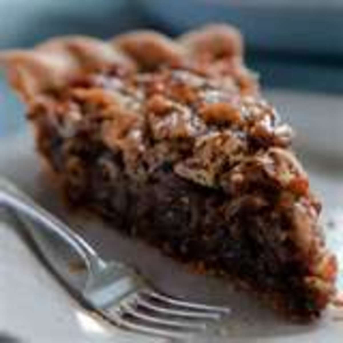 Adding chocolate makes the mock pecan pie even more mysterious.