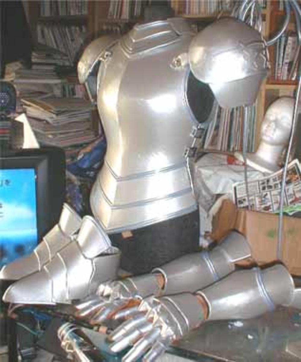How to make Anime Cosplay Armor Costume