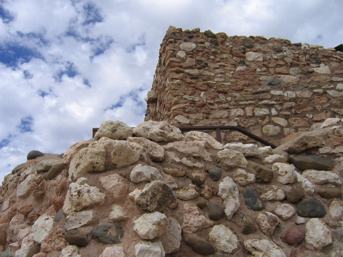 Jerome Arizona Ruins: Tuzigoot National Monument