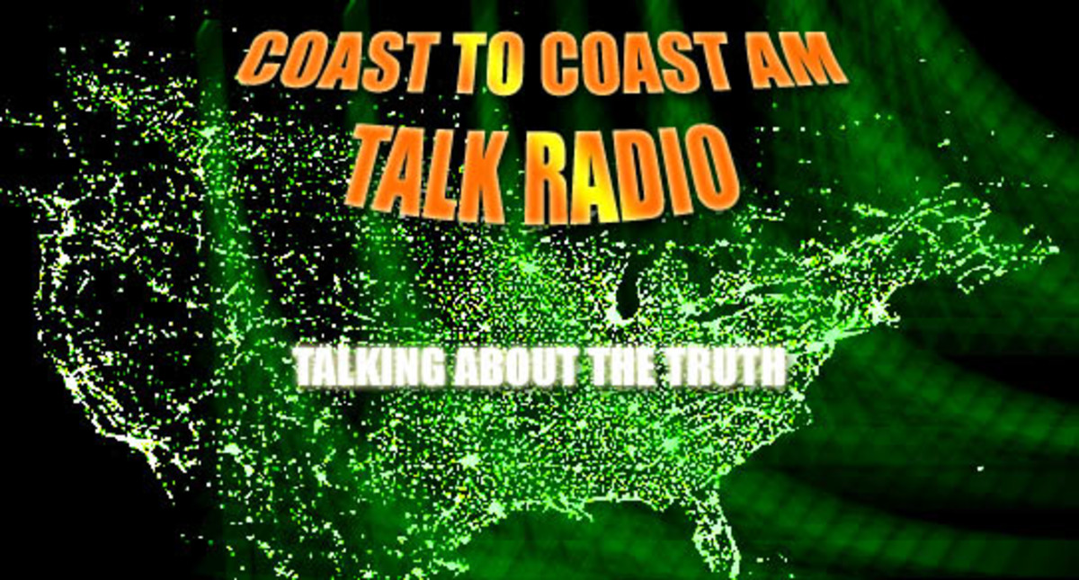 Coast To Coast AM is a talk radio show that deals with things from the paranormal to politics and social issues.