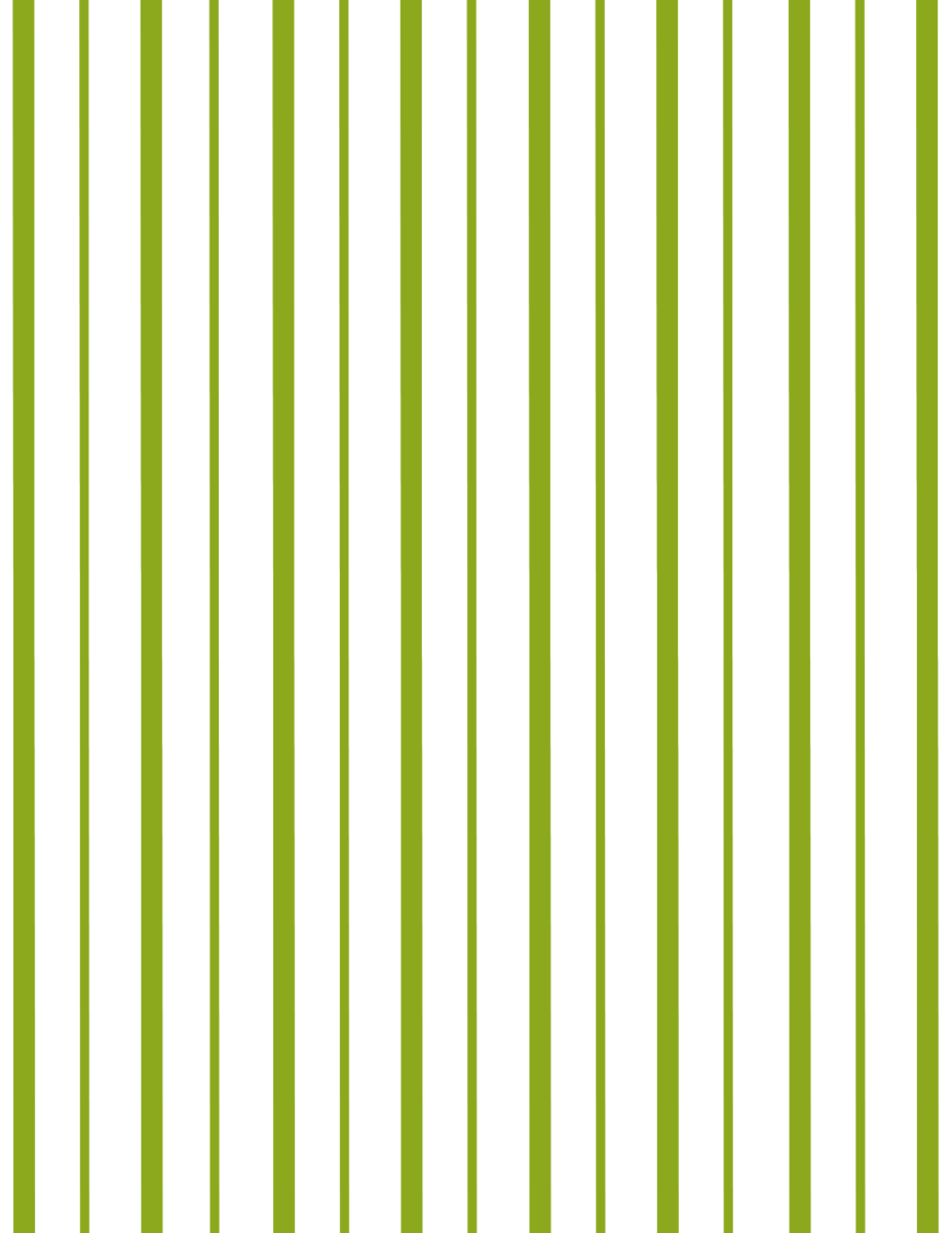 Coordinating green stripe scrapbook paper