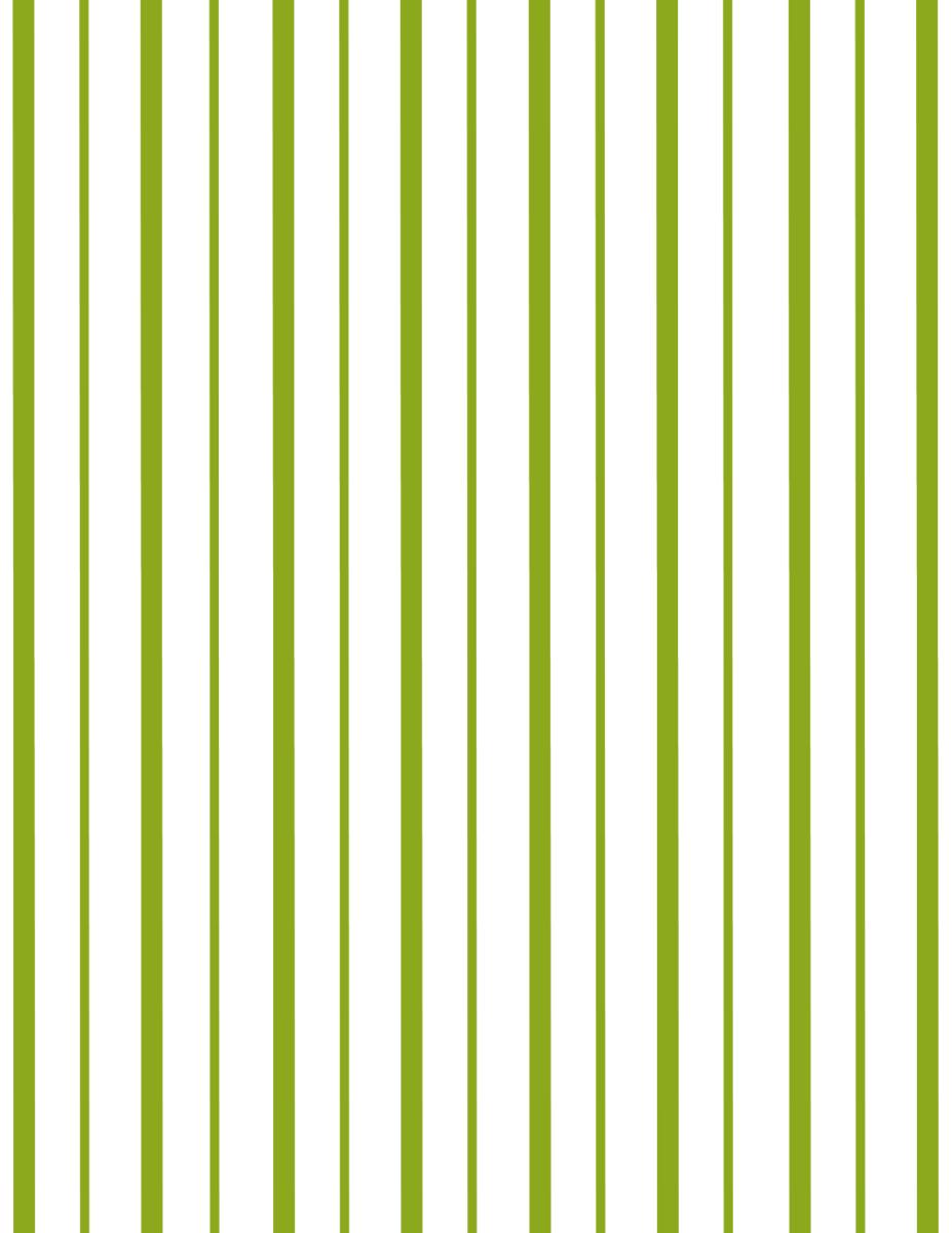 Coordinating green stripe scrapbook paper