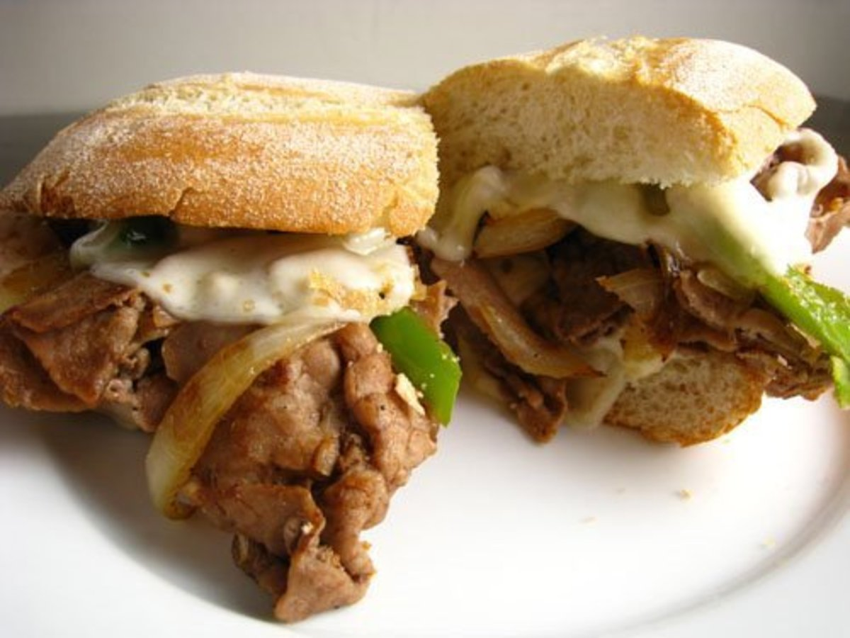Truly the best Philly Cheesesteak Sandwich you will ever eat.