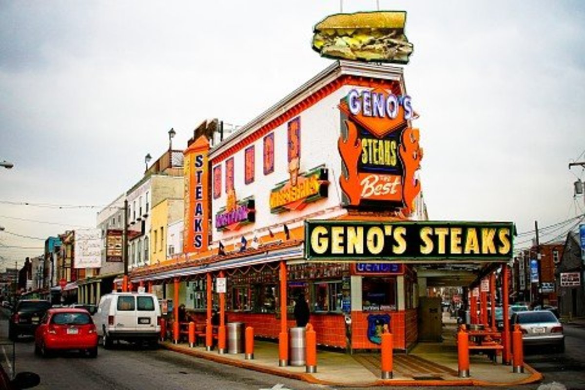 The home of the original Philly Cheesesteak in Philadelphia