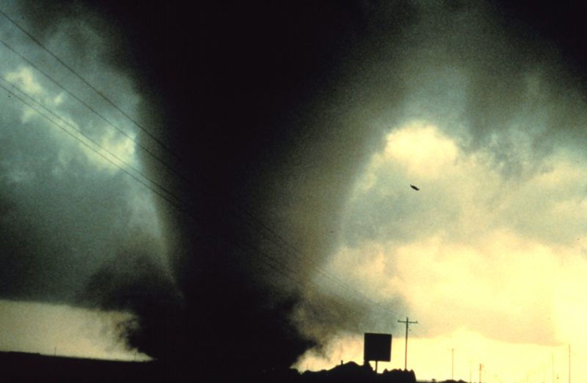 Tornado Photo Credit: Wikipedia Commons
