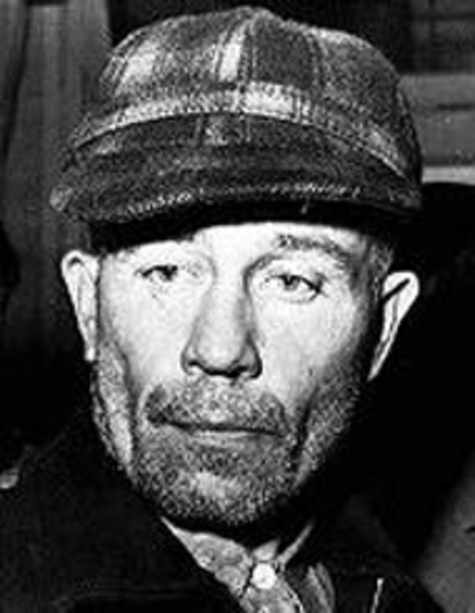 Ed Gein a serial killer in the late 1940s and 1950s was eventually found Guilty but Insane.