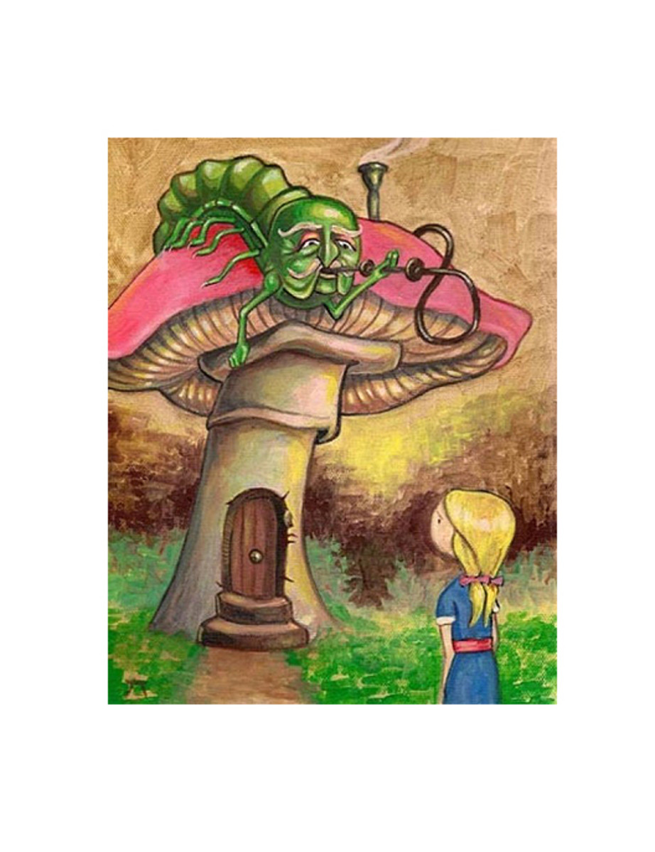 """Alice and the Caterpillar"" by Seth Ahonen"