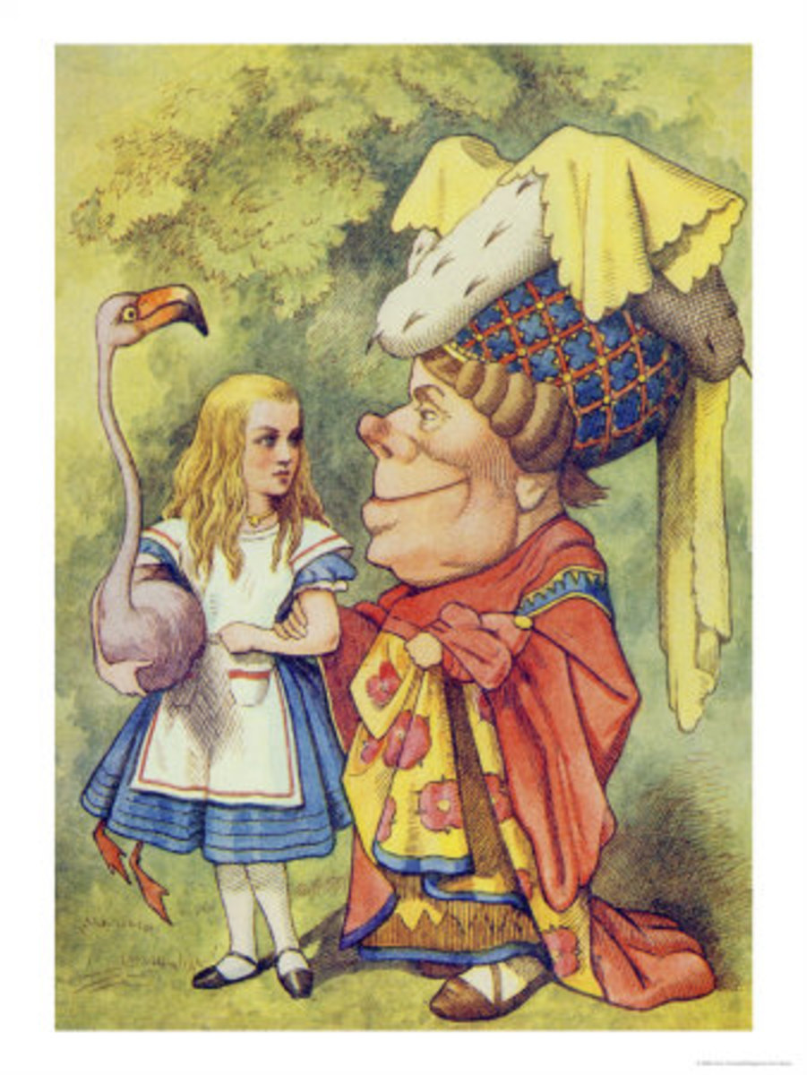 """Alice With the Duchess"" by John Tenniel"