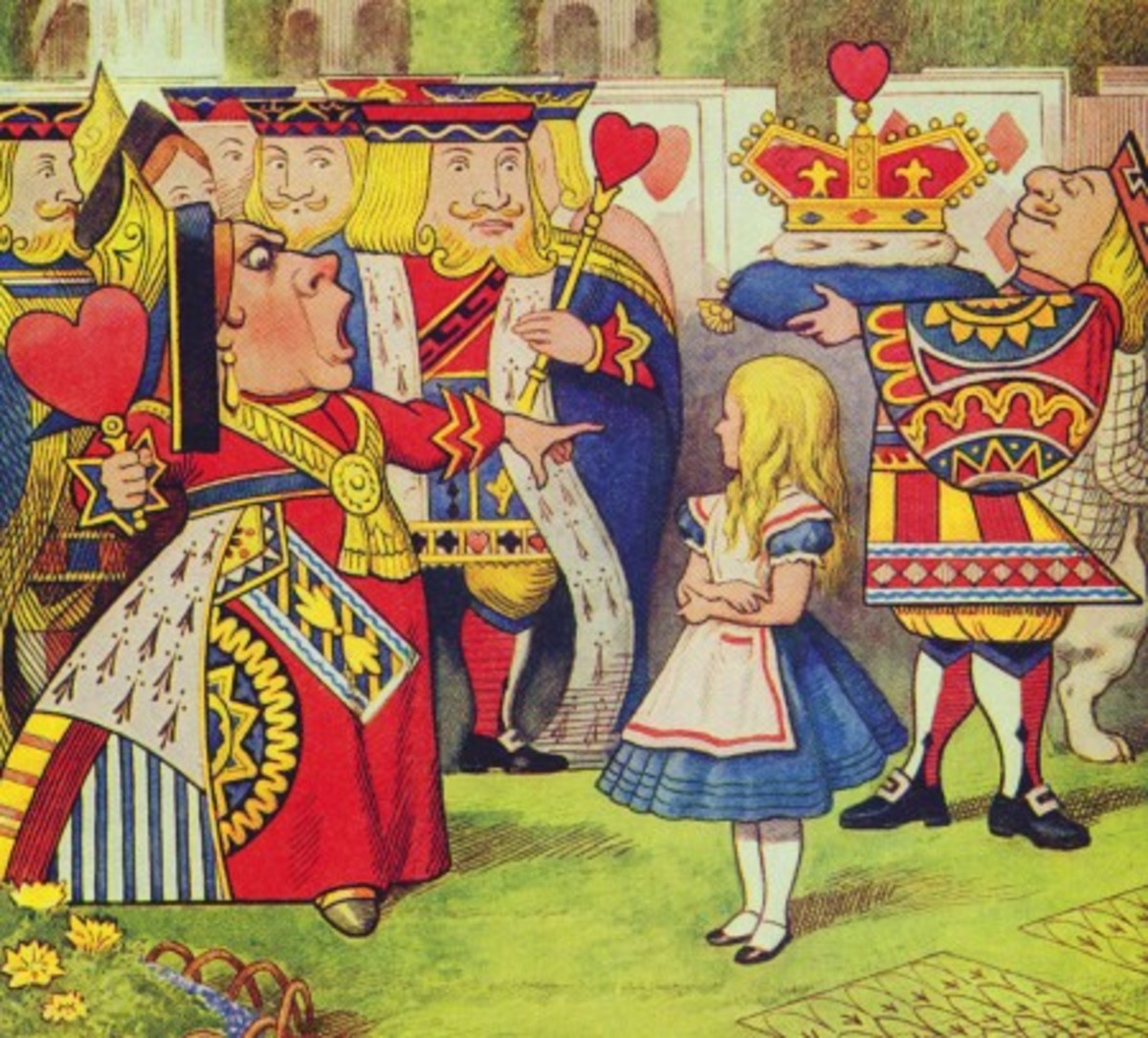 """Off With Her Head"" by John Tenniel"