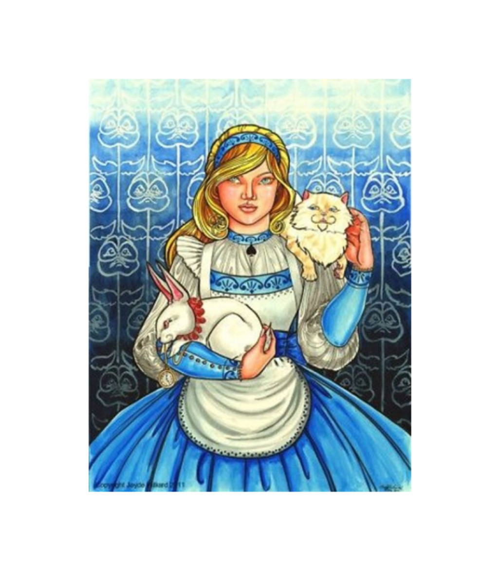 """Alice in Wonderland"" by Jayde Hilliard"