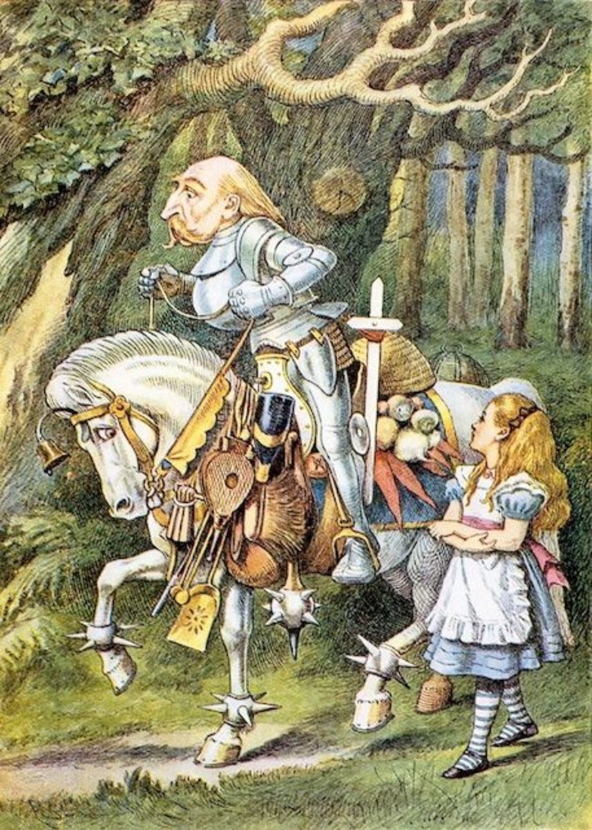 """Knight"" by John Tenniel"