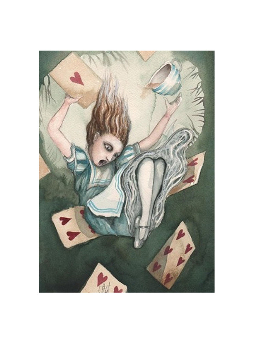 """Alice Falling"" by Dominic Murphy"