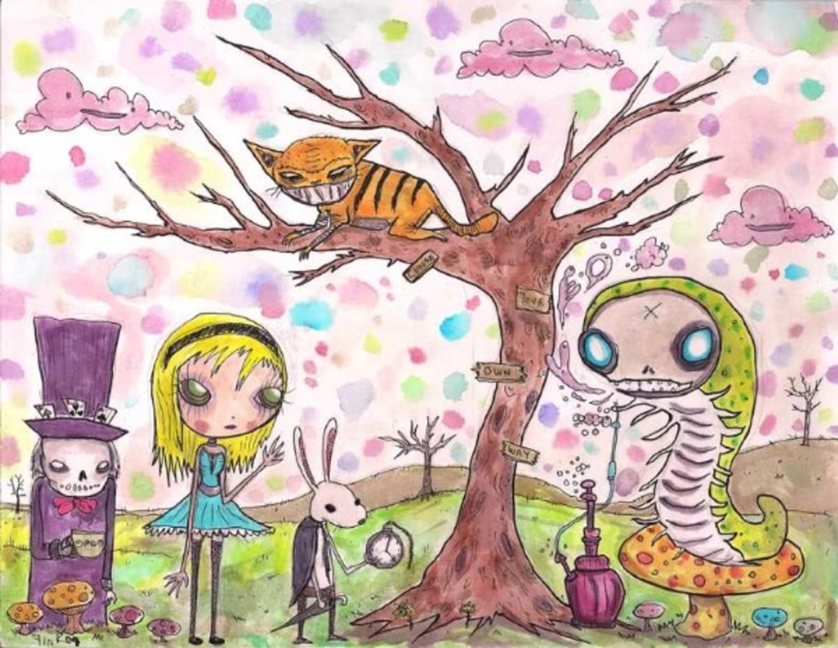 """Alice in Wonderland"" by Gus Fink"