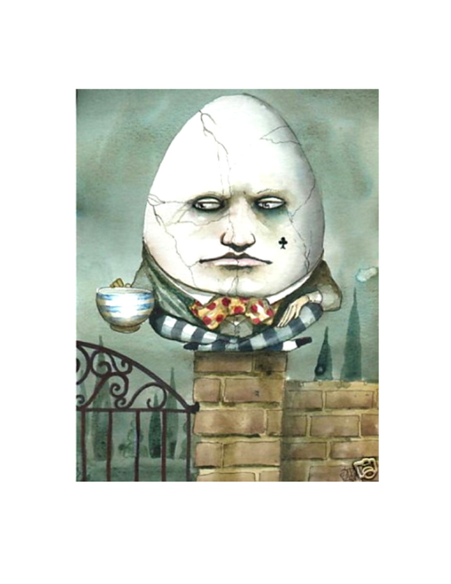 """Humpty Dumpty Cracking Up"" by Dominic Murphy"